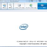 AHCI→RAID設定と、Intel RSTドライバーいれてみた(ふたたび)