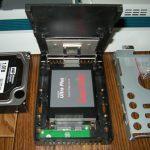 NEC VALUESTAR VW770/ESの換装したSSDをHDDへ戻すかも?(2)戻れなかったおはなし