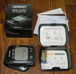 omron-hem-6310f-contents