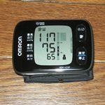 手首式自動血圧計を買ってみた