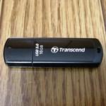 Transcend 16GB USBメモリ買ってみた